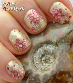 snowflakes, Nail Art, Nail design
