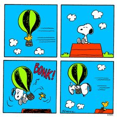 Wednesday with Snoopy and Woodstock.