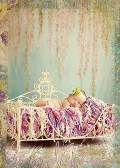 Beautiful newborn photo.