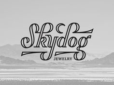 Skydog Jewelry Logo/Lettering by Amy Hood