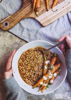 smoky eggplant buckwheat bowl 6