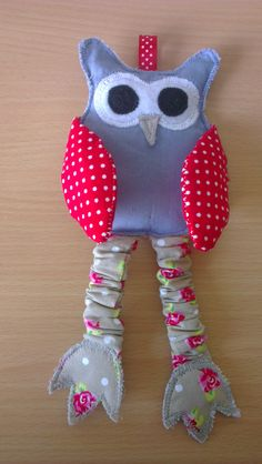 DIY owl with crispy legs and wings