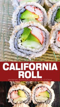 Cooked Sushi Recipes, Sushi Roll Recipes, Cooking Recipes, Healthy Recipes, Cooked Sushi Rolls, Shrimp Sushi Rolls, Vegetarian Sushi Recipes, Easy Sushi Rolls, Korean Food Recipes