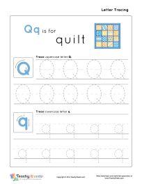math worksheet : kindergarten letter q writing practice worksheet printable  kids  : Q Worksheets For Kindergarten