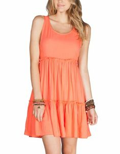 With a belt and cardi this would be really cute. Maybe in a different colour.