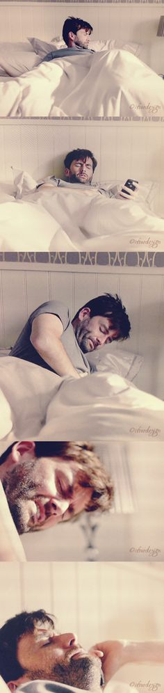 I don't think I will be alone when fans see this scene on BluRay! THERE is NEVER ANY excuse to delete DI Alec Hardy in Bed from our screens!