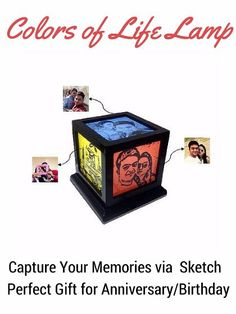 Buy Colors Of Life Lamp Birthday Gifts For Husband Valentines Him Photo