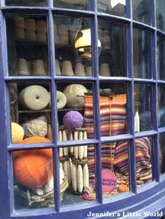 Magic knitting shop in Diagon Alley