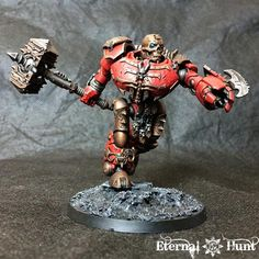 Automaton, Chaos, Chaos Space Marines, Contemptor, Conversion, Counts As, Kastelan, Khorne, Khorne's Eternal Hunt, Kitbash, Warhammer 40,000, World Eaters
