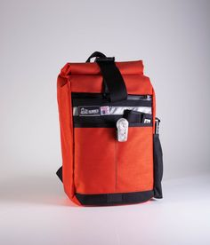Small Roll Top Back Pack Cycling Traveling by RoadRunnerBags. Practical  backpack. Fully waterproof. 58b35e4a4efa4