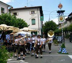 La tradizionale Festa Bavarese che si festeggia ogni anno a Luglio nel comune di LIzzano in Belvedere.