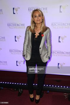 Cecile de Menibus attends the 10th Charity Gala Against Alzheimer's Disease At L'Olympia In Paris...