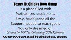It's a great place to be Karmann@texasfitchicks.com