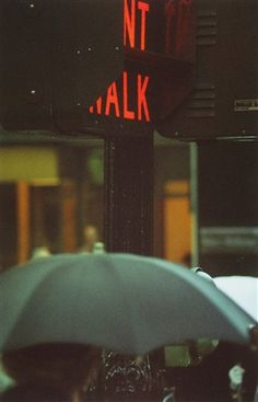 Don't Walk by Saul Leiter