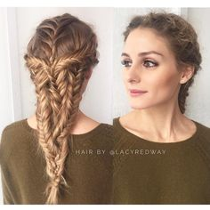 Olivia Palermo's Next-Level Braid Just Gave Us Serious Hair Goals via @ByrdieBeautyAU