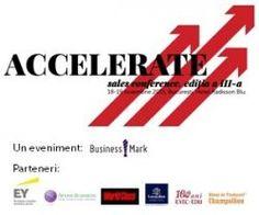 ACCELERATE. Sales Conference, 18 - 19 noiembrie, in Bucuresti