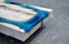 epoxi colorida para madeira - Pesquisa Google