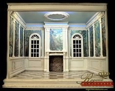 Hand Crafted 1:6 Scale Room Box for Barbie or Fashion Royalty Doll | Flickr - Photo Sharing!