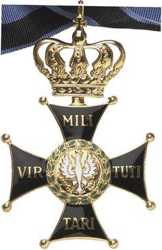 """POLEN Kriegs-Orden """"Virtuti Militari"""". 8. Modell (Adler mit Krönchen – seit 1991)."""