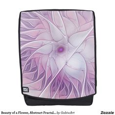 Beauty of a Flower, Abstract Fractal Art Backpack
