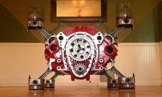 This is a 350 engine Block table that I have built