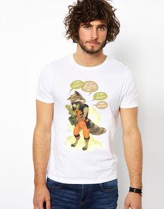 Promotion price 2017 Summer New Fashion Printed Guardians Of The Galaxy T Shirt Men Short Sleeve Groot and Rocket Design T-Shirts Cool Top Tees just only $10.99 with free shipping worldwide  #tshirtsformen Plese click on picture to see our special price for you