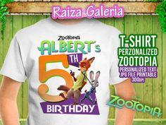 T-shirt Disney Zootopia Personalized  We by RaizaysuGaleria