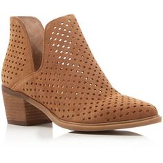 e690511e46d4 Steven By Steve Madden Danese Perforated Booties - Compare at  129 (74 PAB)  ❤