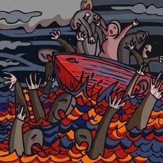 Funerali per le vittime del naufragio di Lampedusa. Si terranno ad Agrigento.