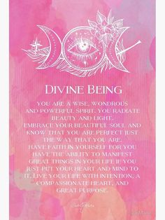 'Divine Being' Photographic Print by CarlyMarie Sacred Feminine, Feminine Energy, Mantra, Yoga Nature, Zen Yoga, Zen Meditation, Goddess Quotes, Energy Quotes, A Course In Miracles