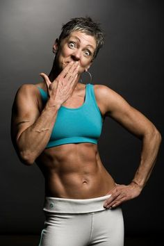 Slutty older muscular women #13