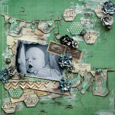 2 Crafty Chipboard : Elena - Time for May ProjectsPlus we are having a BLOG HOP !!!!!