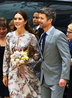 """Crown Prince Frederik and Crown Princess Mary in day two of their state visit to Mexico, today they attended the Inauguration of the Seminar Business """"Efficient and Sustainable Nation"""" organized to promote the exchange of business and technology between the two nations."""