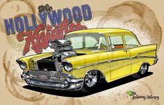 Hot Rods, Movie Cars, Hollywood, Vehicles, Artwork, Movies, Art Work, Films, Work Of Art