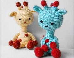Amigurumi Crochet Giraffe Pattern - George the Giraffe - Softie - Plush