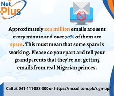 internet spam Nigerian Prince, Get Email, Spam, Told You So, Internet, Facts