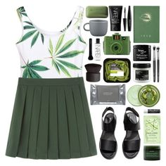 """""""//olive//"""" by bananafrog ❤ liked on Polyvore featuring H&M, CB2, Guide London, philosophy, NARS Cosmetics, Davines, Givenchy, The Body Shop, Dermalogica and Aveda"""
