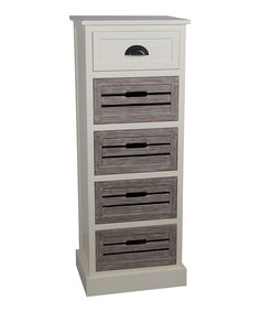 Look at this Cream Melody Five-Drawer Storage Cabinet on #zulily today!