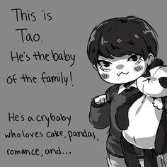 exo tao my drawing Chen exo fanart happy fun times with exo Tao Exo, Chanyeol Baekhyun, Zi Tao, Exo K, Sistema Solar, Panda Bebe, Exo Fan Art, Xiuchen, Exo Memes