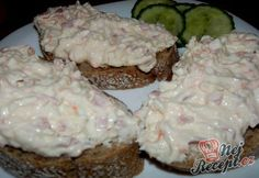 Diabetic Recipes, Diet Recipes, Cooking Recipes, Healthy Recipes, Salty Foods, Czech Recipes, Snacks, Easy Cooking, Good Food