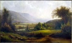 I have always admired the American landscape painters of the 19th century, and I wanted to share a few of my favorites