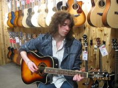 At Guitar Center... Long Island N.Y... right at home!!  https://www.facebook.com/jessekinchrocks/photos_stream