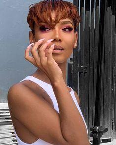 Hot Short Hair Ideas for Black Women 2021 – The Style News Network Black Hair Inspiration, Style News, Pixie Cut, Trendy Hairstyles, Hair Ideas, Fashion News, Black Women, Short Hair Styles, Lady