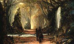 Golden Path by Ninjatic.deviantart.com on @DeviantArt