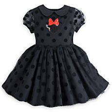 Disney Minnie Mouse Party Dress for Girls - Black Girls Party Dress, Girls Dresses, Disney Outfits, Kids Outfits, Baby Girl Fashion, Kids Fashion, Girly, Minnie Mouse Party, Stylish Baby