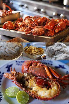 Lobsters in Puerto Nuevo, Baja California, Mexico | Easy Recipes at RasaMalaysia.com