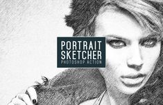 Free Medialoot - Portrait Sketcher Action for Photoshop Photoshop Filters, Photoshop For Photographers, Photoshop Photography, Photoshop Tutorial, Photoshop Actions, Popular Photography, Creative Photography, Amazing Photography, Photo Tips