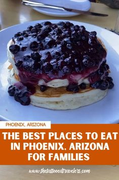 Traveling to Phoenix, Arizona with the family? Check out this detailed Phoenix Food Guide on the best restaurants to eat at with kids during your next AZ vacation including breakfast, brunch, lunch, dinner, and dessert recommendations! www.thetattooedtravelers.com // Phoenix Arizona Food // Phoenix Food Restaurant // Best Food In Phoenix Arizona // Phoenix With Kids // Where To Eat In Phoenix AZ // #phoenix #arizona Arizona Travel, Arizona Usa, Phoenix With Kids, Packing List For Vacation, Best Places To Eat, The Good Place, Deserts, Brunch, Phoenix Arizona