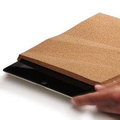 iPadCorkCase is a minimalist design created by Portgul-based designer pomm. The faceted iPad case is made entirely of cork, and has beveled edges for easier gripping. Although the aesthetic is unique, the main concern was the protection of the case's contents. Although slightly thicker than other cases, the iPadCorkCase is guaranteed to keep your iPad safe. (3)