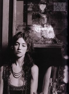 Charlotte Gainsbourg | Photography by Deborah Turbeville